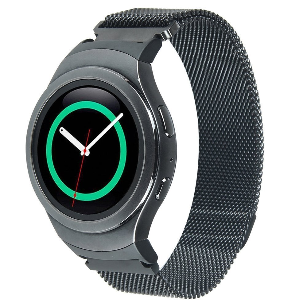 LEONIDAS Milanese Loop For Samsung Gear S2 Band Magnetic Closure Clasp Sports Band For Samsung Gear S2 Smart Watch