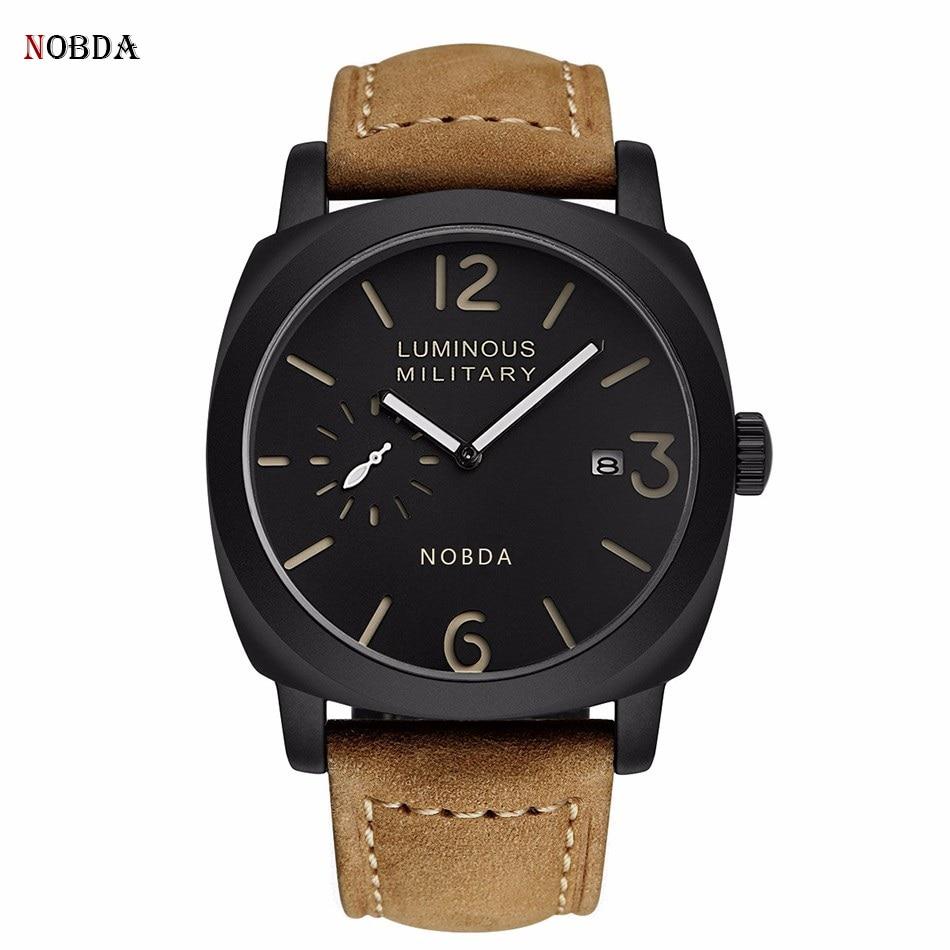 PAN 1950 Style Luminous Military Luxury Quartz Watch