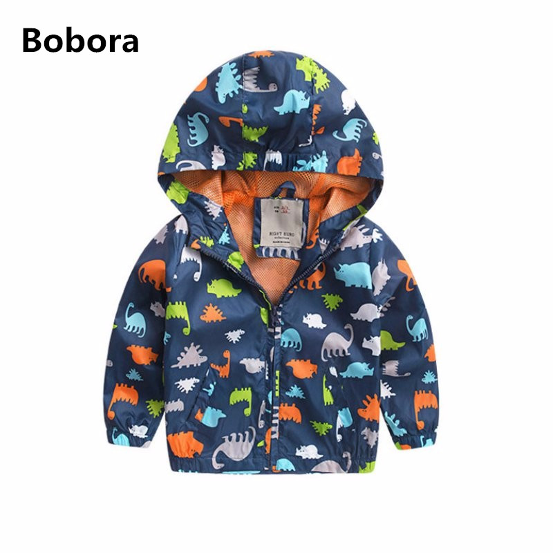 BOBORA Brand Spring Autumn Active Boys Jacket Softshell Jackets Kids Windbreaker Baby Boy Hooded Coat Outwear Clothes spring autumn kids jacket pu leather boy jackets clothes children outwear for baby boys jackets 893
