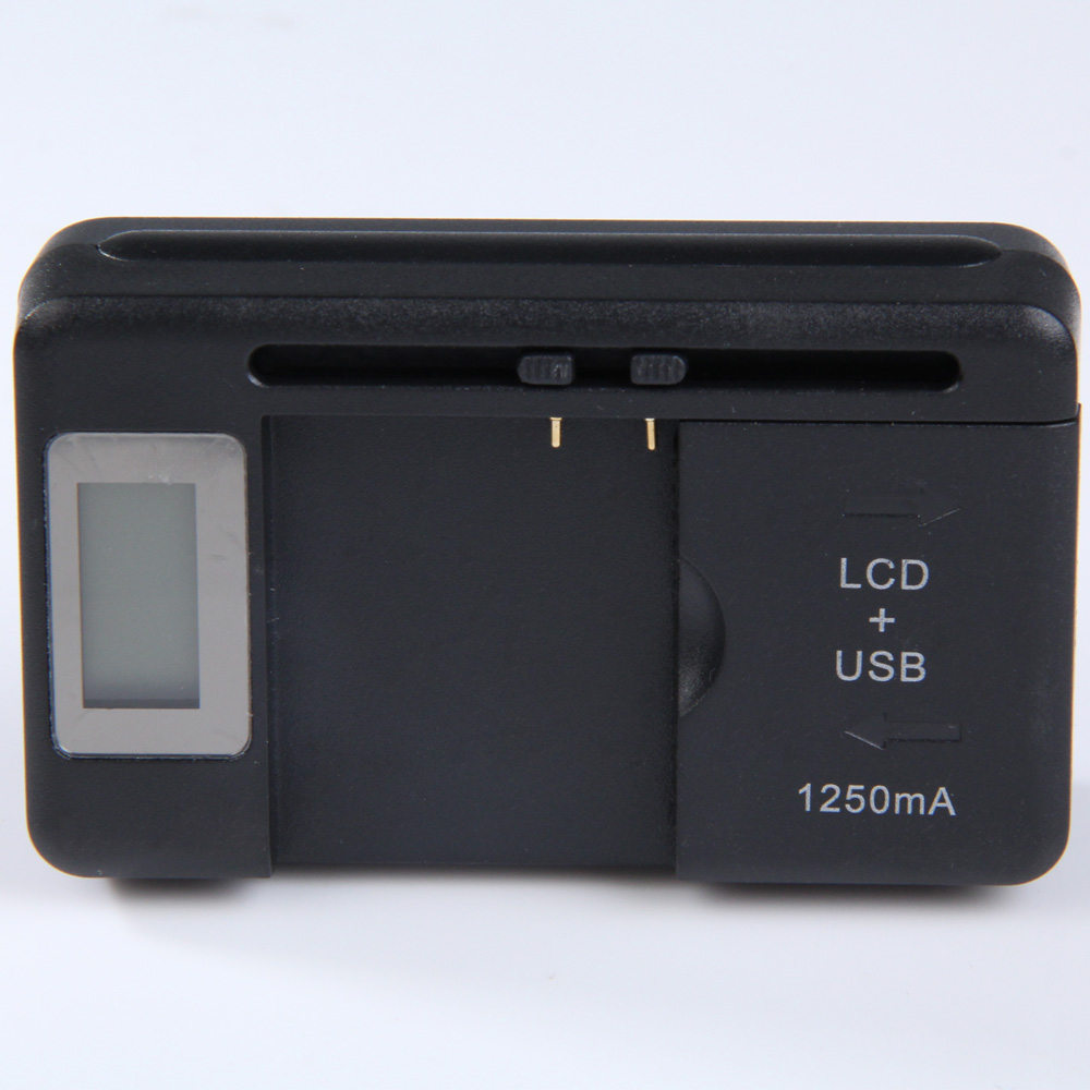 US Plug Travel Charger Universal LCD USB Charging Dock Battery Charger for Cell Phones -25