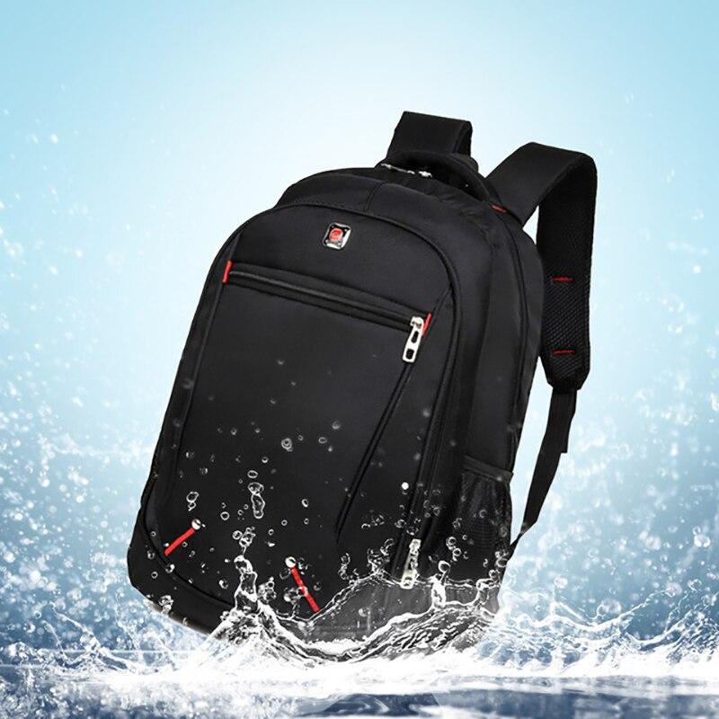 Laptop Backpack Schoolbag Travel Anti-Theft Multifunctional Black Waterproof Student