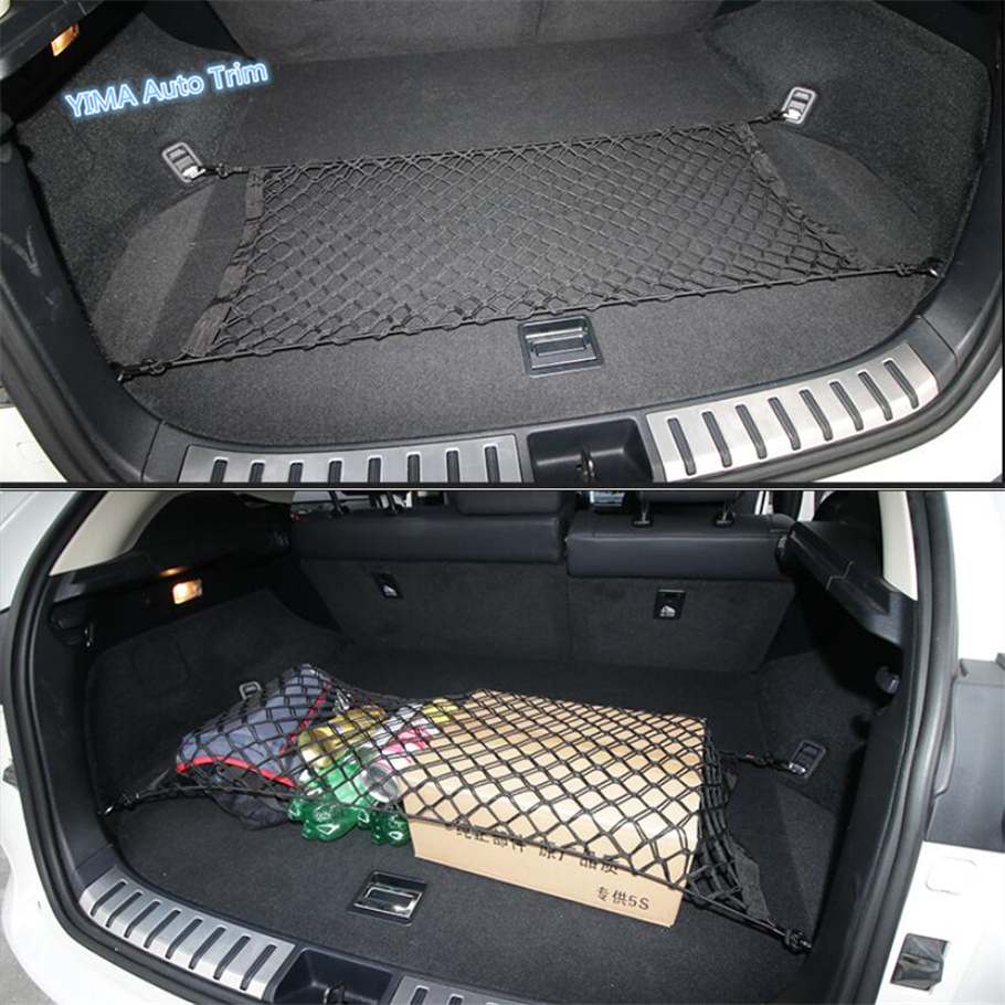 Lapetus Car Styling Rear Trunk Luggage Storage Net String Bag Mesh Net Cover Trim Kit Fit For <font><b>LEXUS</b></font> NX NX200T <font><b>NX300H</b></font> 2015 - 2019 image