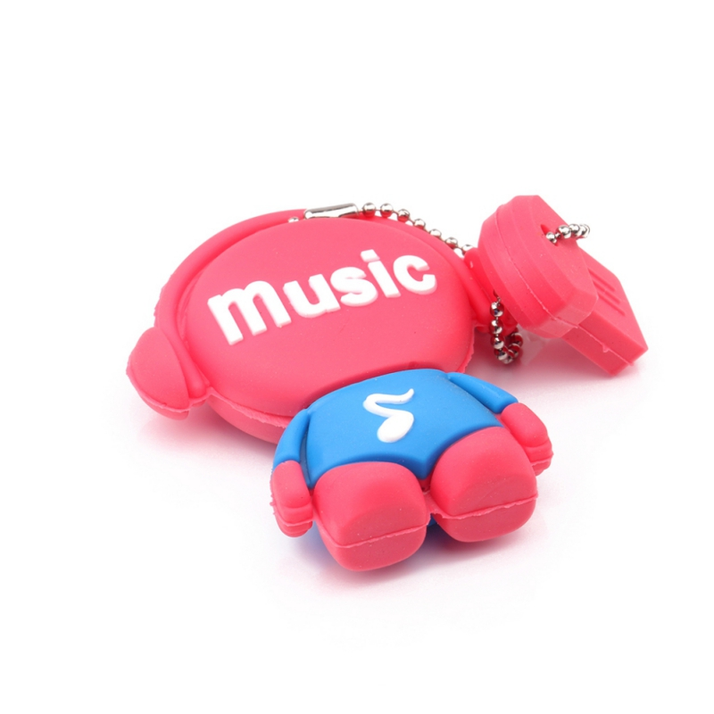 Музыкальные игрушки USB флеш-накопители 512 Мб 2 ГБ флеш-накопитель 8 ГБ реальная емкость USB память USB 2,0 карта памяти - Цвет: Красный