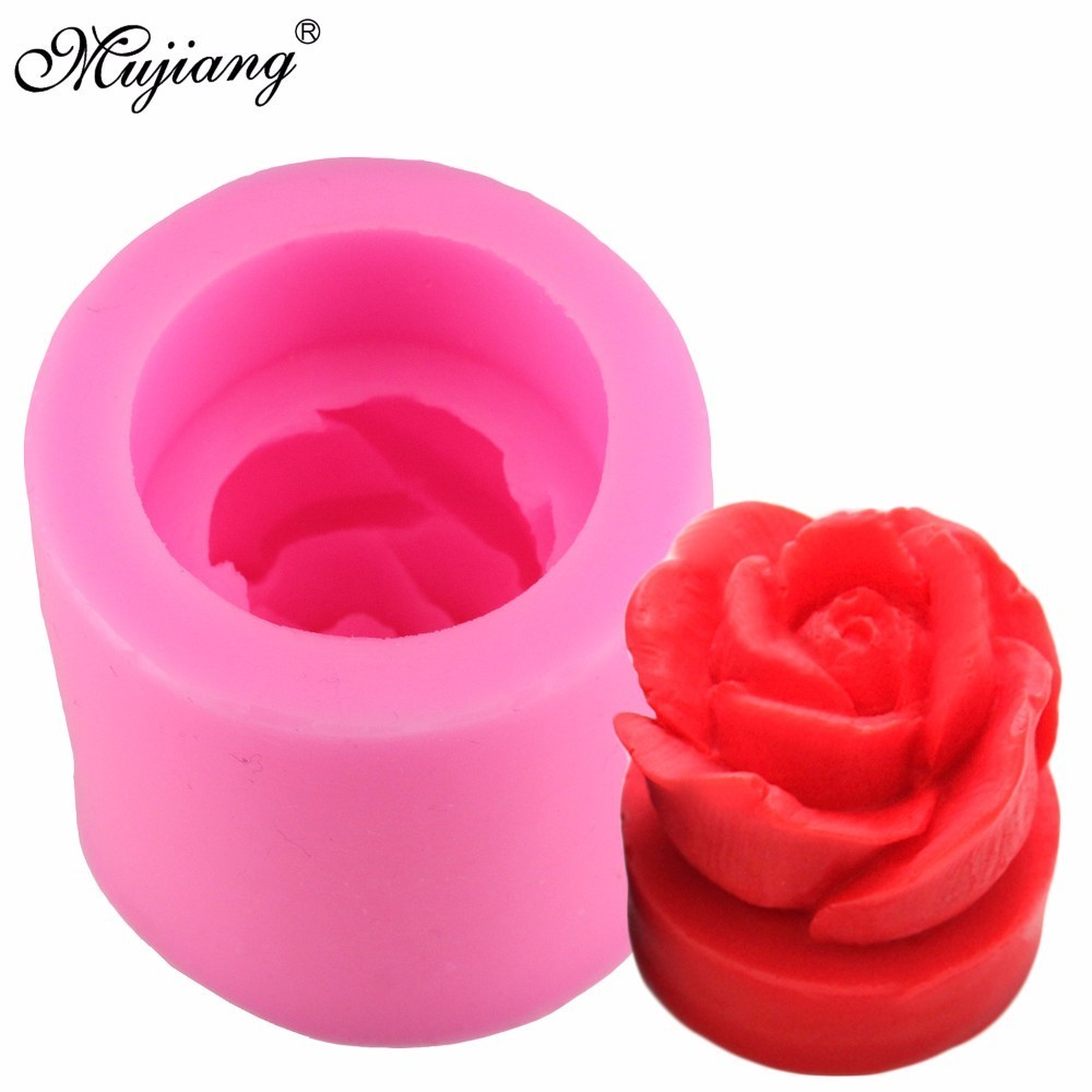 Heart Sweet Love Rose Flower 3d Silicone Soap Mold Fondant Cake Chocolate Mould Candle Polymer Clay Molds Diy Baking Tools Ct948 Clay Extruders Arts,crafts & Sewing