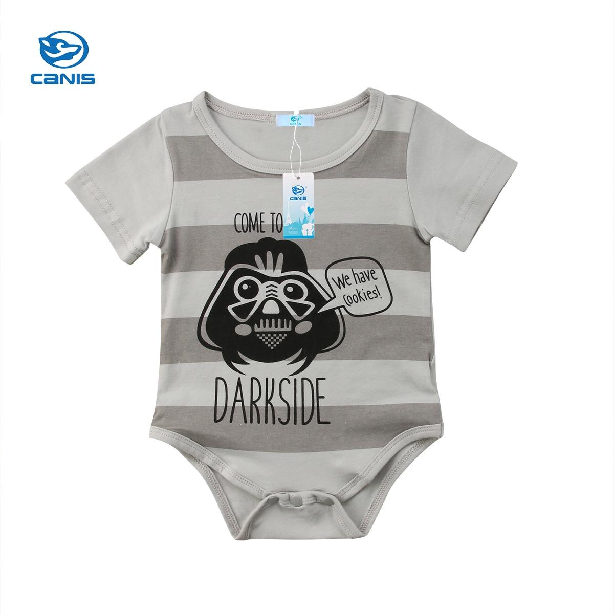 Toddler Baby Romper Summer Clothes Newborn Kids Baby Boy Girl Star Wars Romper Jumpsuit  ...