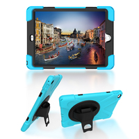Case For IPad Air 2 Shell Rotation New Pirate King Series Shockproof Heavy Silicone Hard Case