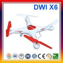 2017 Nouveau DWI X6 2.4 Ghz 4CH RC RTF Quadcopter Télécommande Fly Drone sans Caméra Dron Jouets Pour Le Cadeau