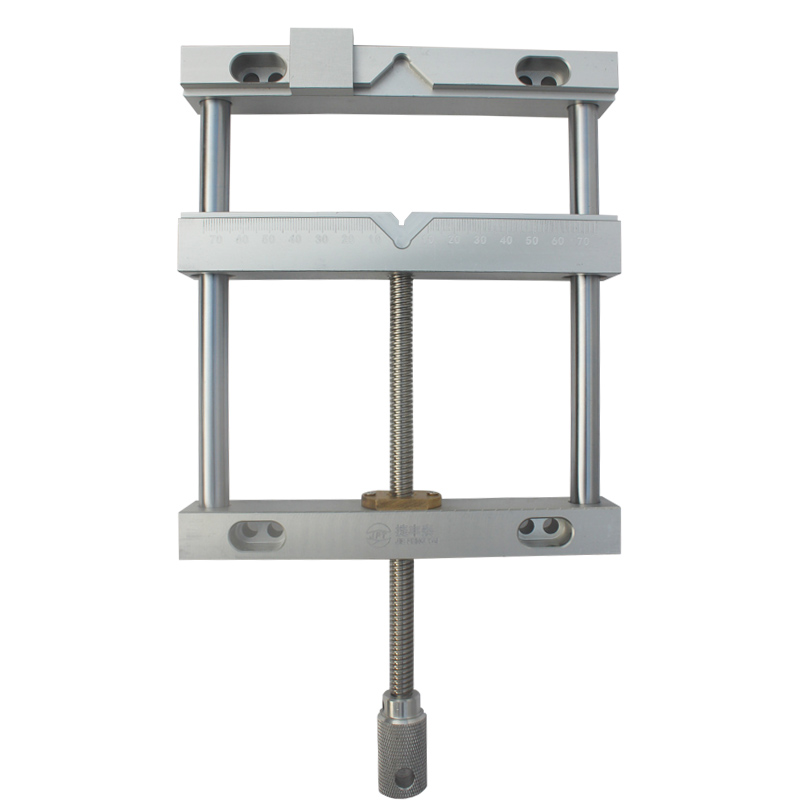 JFT flat tongs manumotive 170mm screw precision parallel-jaw vice plain vise QGG for cnc machine цена