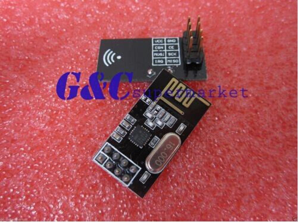 10 ШТ. НОВЫЙ NRF24L01 + 2.4 ГГц Антенны Беспроводной Модуль Приемопередатчика