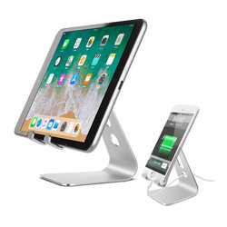 Phone Holder Stand for iPhone Xs X 7 8 Aluminium Alloy Mobile Phone Stand for Samsung Tablet PC Stand Desk Phone Holder For iPad