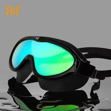 361 Large Frame Men Women Kids Swimming Goggles HD Waterproof Anti Fog UV Protection Adult Swim Glasses  Silicone Swim Eyewear