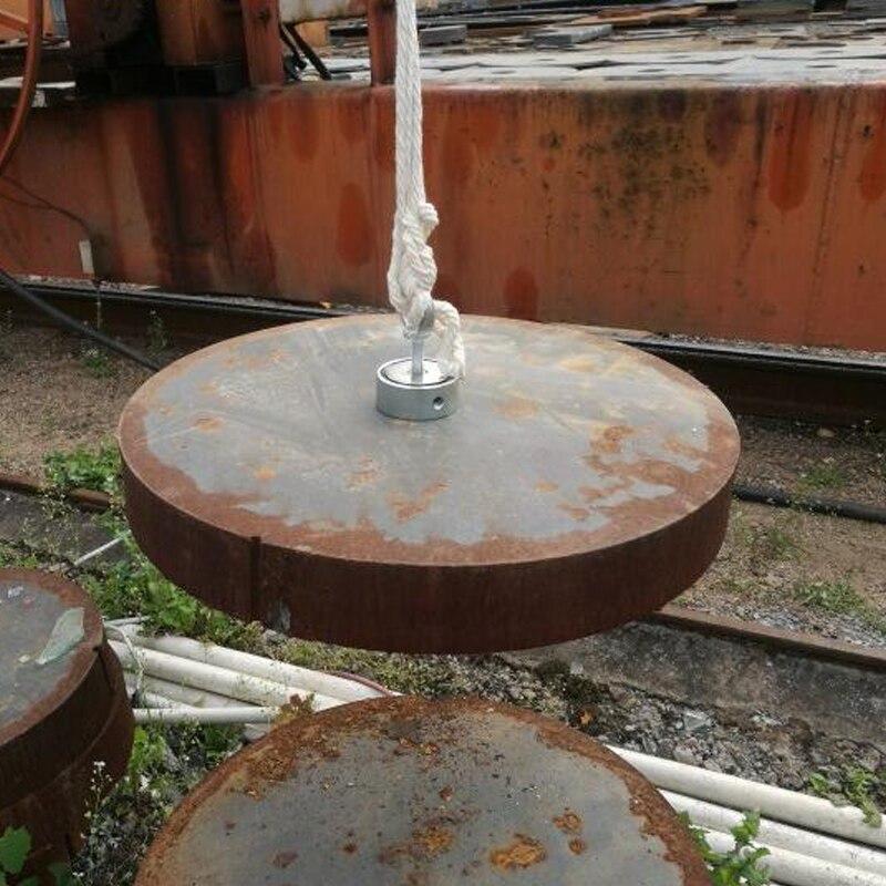 200 kg 2 Lato Super Potente Magnete Pesca Salvataggio Magneti Tesoro Imanes Magnete Al Neodimio Magnetico Forte Strumento di 20 m di corda opzione