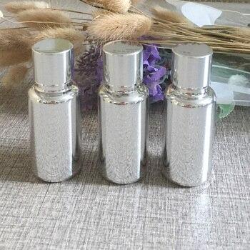 50pieces/lot 15ml High temperature silver plated dropper bottle,dropper container,essentical oil bottle wholesale