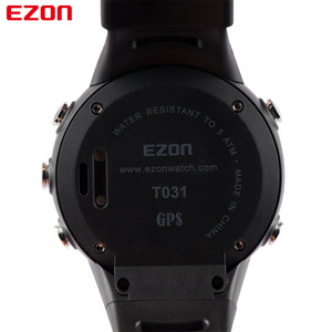 Image 5 - EZON T031 Mens GPS Sports Watches 50M Waterproof Distance Pace Calorie Counter GPS Timing Multifunctional Digital Wrist Watches