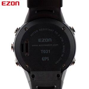 Image 5 - EZON T031 erkek GPS spor saatler 50M su geçirmez mesafe hız kalori sayacı GPS zamanlama çok fonksiyonlu dijital bilek saatler
