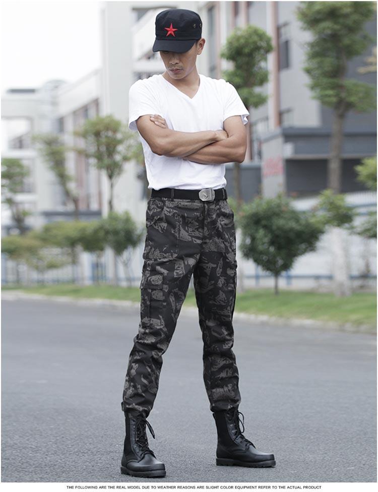 f0c17649951b8 Black Hawk Tactical SweatPants Men Military Tactical Camouflage ...