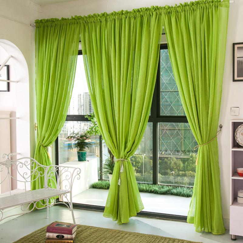 Buy 2016 modern curtains for living room for Modelos cortinas cocina