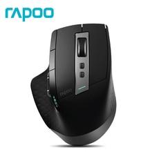 Rapoo MT750S Bluetooth многомодовая Беспроводная лазерная мышь 2,4 г беспроводная/Bluetooth 3,0/Bluetooth 4,0 офисная мышь для ноутбука PC Gamer