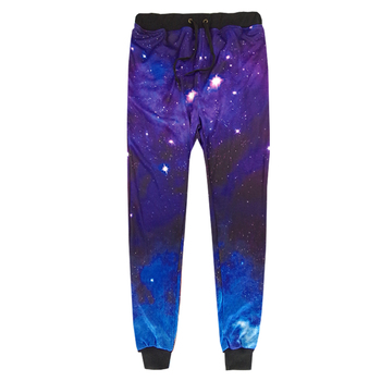 3D Printing Galaxy Joggers Men/Women Funny Cartoon Sweat Pants Fashion Sweatpants Autumn Fall Winter Style Trousers Dropshipping цена 2017