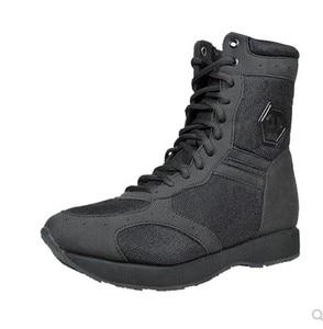 Image 1 - Весна лето, ультра светильник, военные ботинки для мужчин и женщин, уличные армейские ботинки, воздухопроницаемый, ультра светильник 07, боевые ботинки