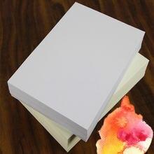 Ручная роспись Водорастворимая бумага для рисования белая/желтая