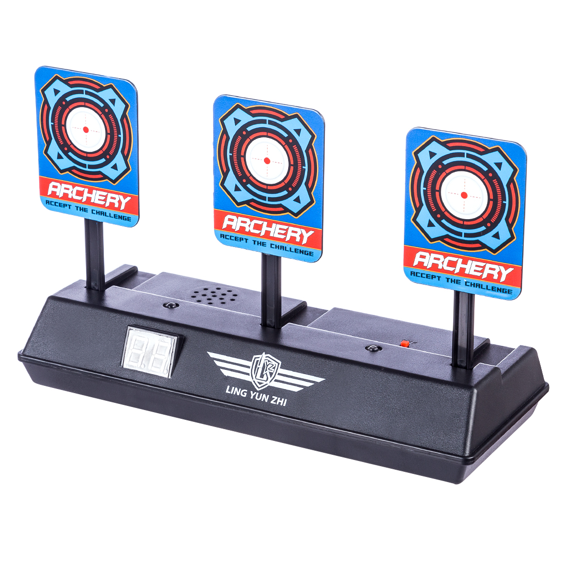 2019 Popular Scoring Auto Reset Electric Target Support Outdoor Shooting Training Aim Paintball Accessories