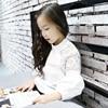 2017 New Arrivals Girls White Blouses Teenager Girls Shirts School Uniform Blouses Spring Shirt 4 5