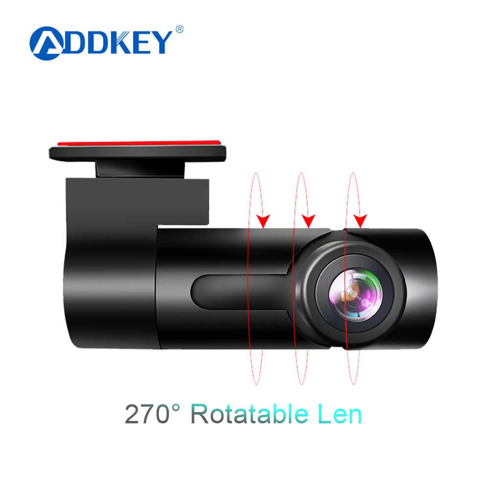 ADDKEY Wifi Автомобильный видеорегистратор, камера регистратор, цифровой видеорегистратор, видеокамера, видеорегистратор era 1080 P, ночная версия Novatek 96658, видеорегистратор