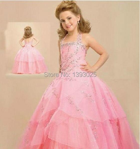 Pink barbie dresses for girls images for Wedding dress for big girls