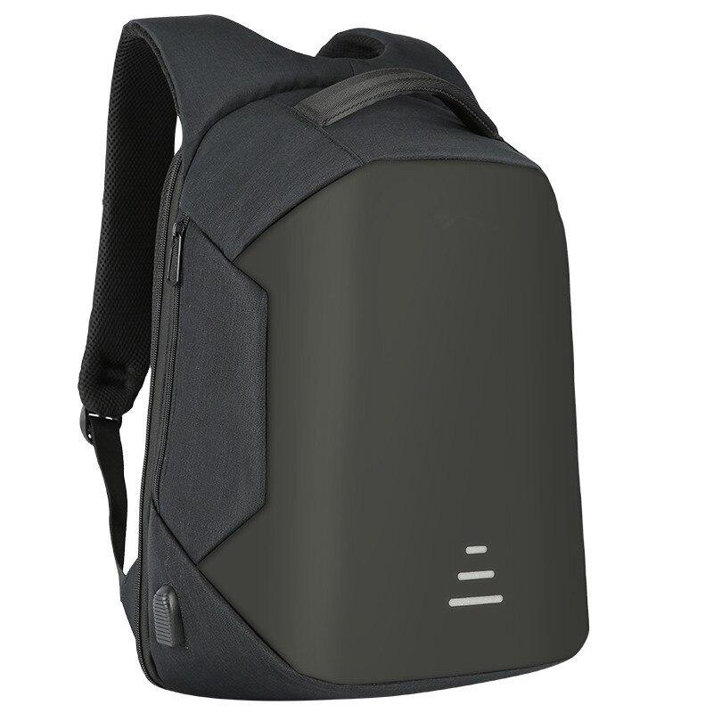 BAIBU mochila para los hombres Anti robo 15,6 ordenador portátil mochila impermeable de Oxford de carga USB de la Escuela de Diseño de viaje mochila adolescentes