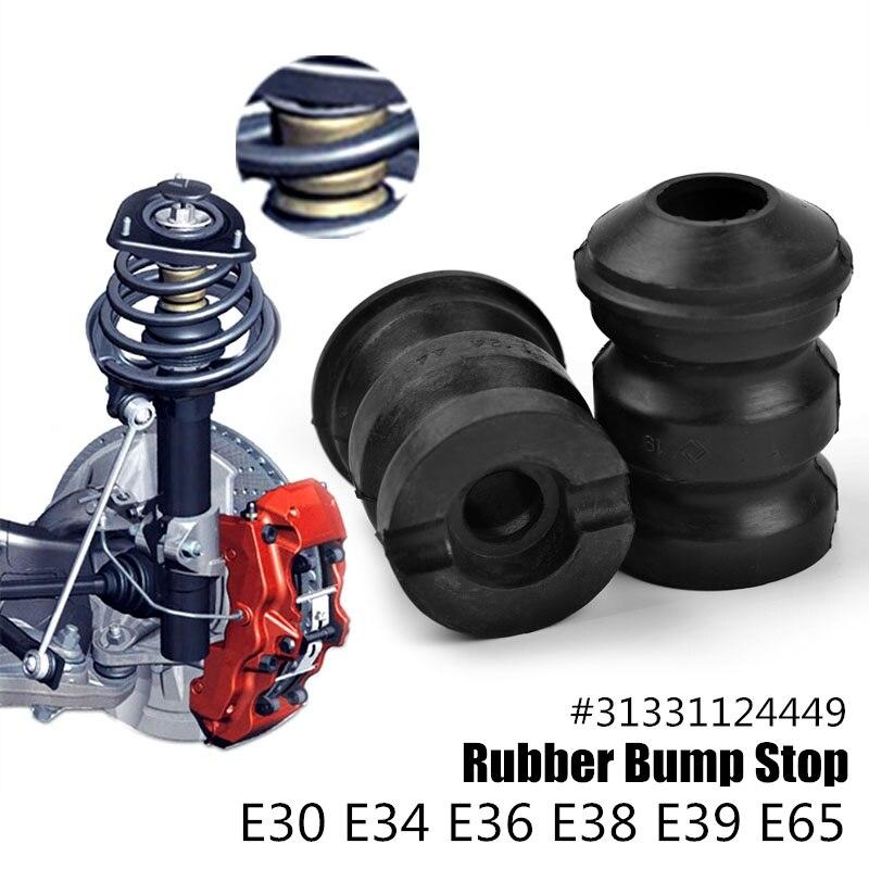 2 Pcs Auto Suspension Gummi Strut Stoßstange Bump Stop 31331124449 für bmw Zubehör M3 X6 E30 E34 E39 318i 325i 525i