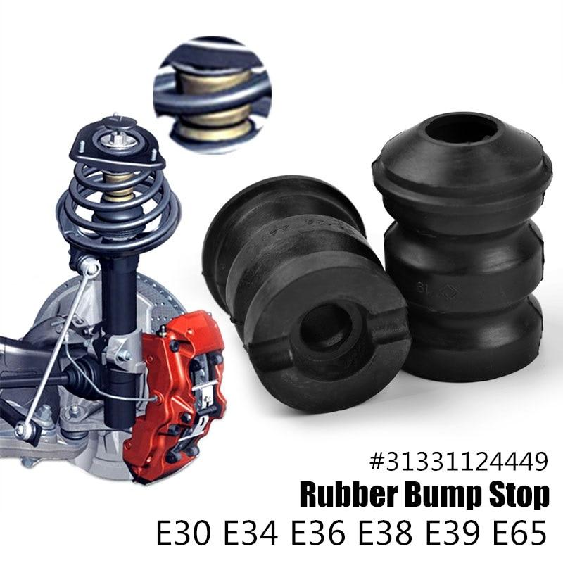 2 stuks Auto Schorsing Rubber Strut Bumper Bump Stop 31331124449 voor bmw Accessoires M3 X6 E30 E34 E39 318i 325i 525i