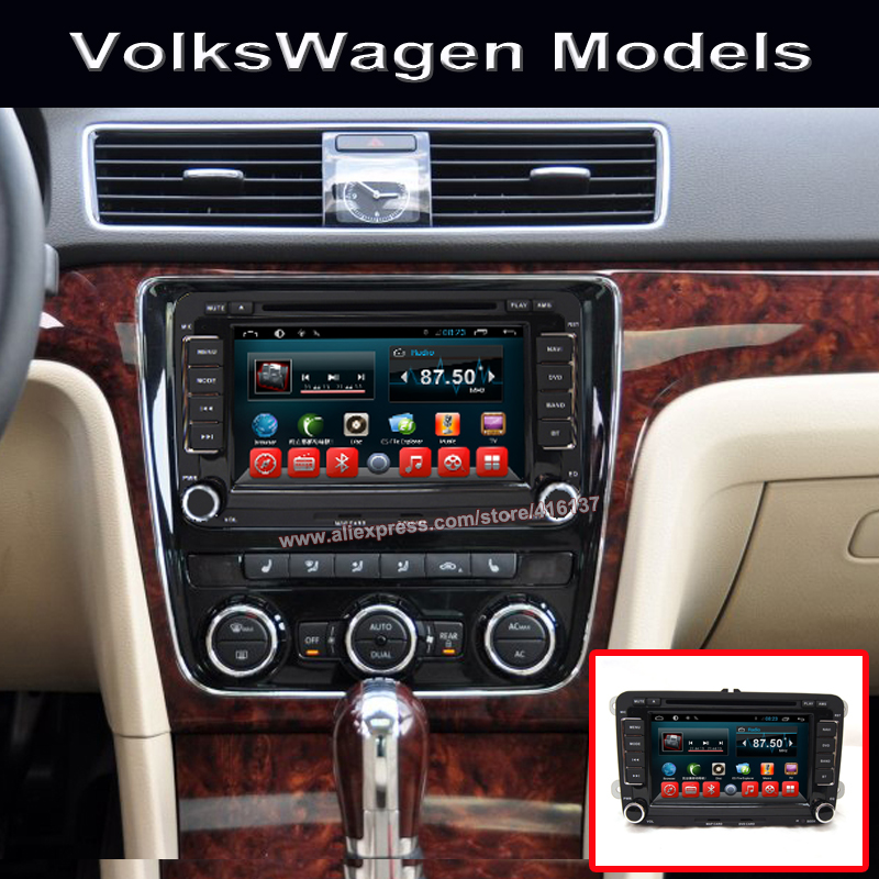 android 7 inch gps navigation car radio for vw polo touran. Black Bedroom Furniture Sets. Home Design Ideas