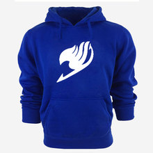 Anime Unisex Casual Hoodies Fairy Tail Warm Hoody Sweatshirt