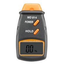 WOOD Moisture Meter/Moisture Meter MD-814 Digital LCD Moisture Meter Wood Cotton 5 – 40%