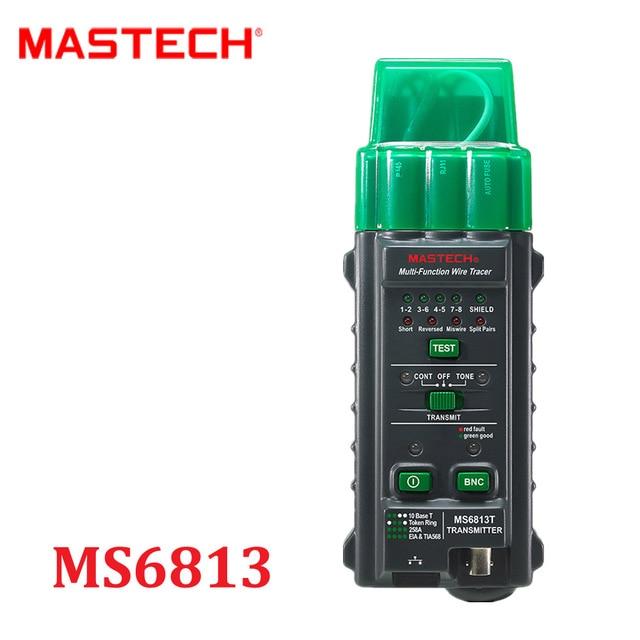 Mastech ms6813 netzwerkkabel telefonleitung tester detector sender ...
