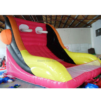 PVC inflatable sports game inflatable basketball backboard inflatable hoops inflatable playground