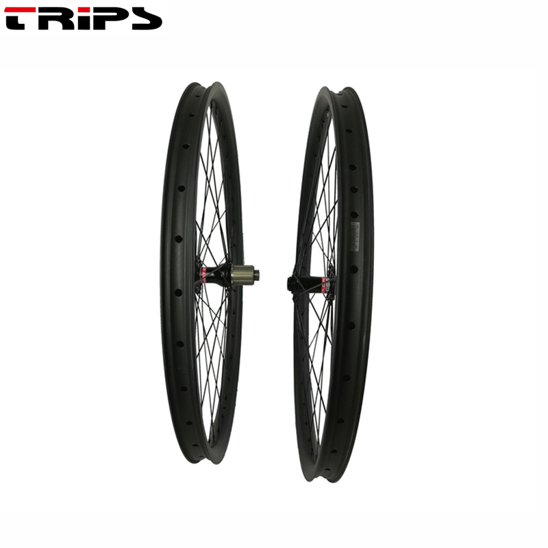 29er Mountain Bikes carbon wheels 35mm width asymmetric tubeless MTB AM DH Novatec D791 B15 D792