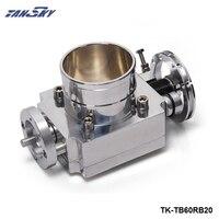 PIVOT FOR Nissan RB20 Universal High Flow Aluminum 60mm Intake Manifold Throttle Body PT TB60RB20