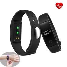 Фитнес трекер Смарт часы-браслет пульсометр активности Шаг Счетчик напоминание Bluetooth браслет для iOS и Android