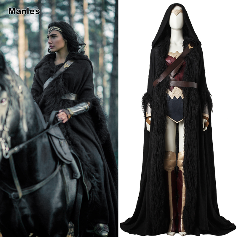 Wonder Woman Costume Disguise Woman Diana Cosplay Superhero Outfit Halloween Carnival Adult Costumes Movie Fantasy Custom