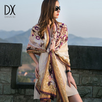 Chiffon Silk Bandana Scarf Women Fashion Designer Brand Scarf Winter Shawls And Scarves Sjaal Cachecol Echarpes