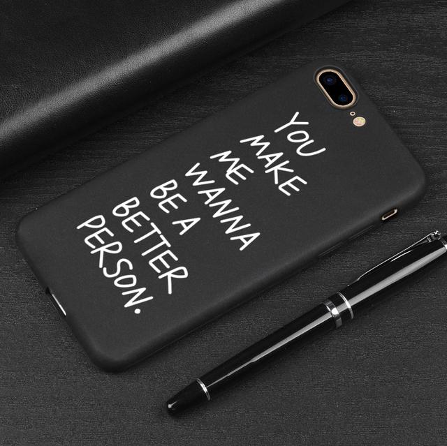 3D Soft TPU Relief Black Case – iPhone
