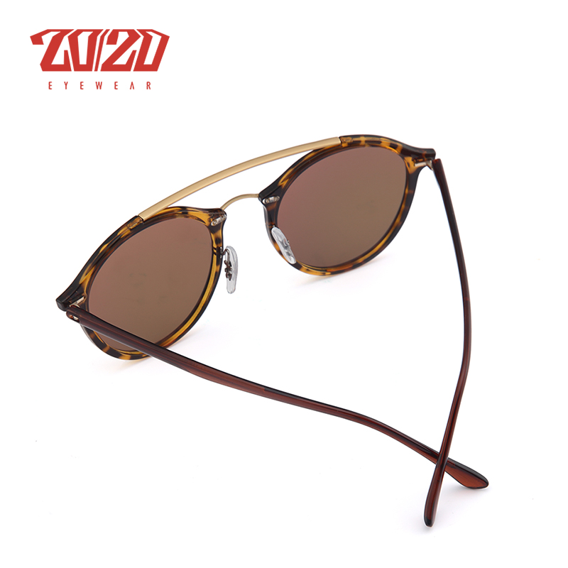 20/20 Brand Men Retro Polarized Sunglasses Women Classic Brand Designer Unisex Sunglasses Double Beams Glasses 5