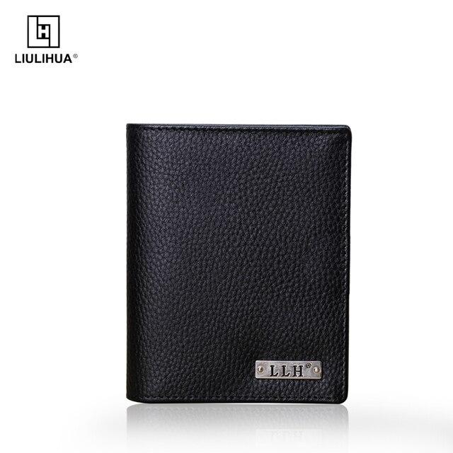 LLH Горячий Продукт для Винтажный Дизайн Кожаный Бумажник