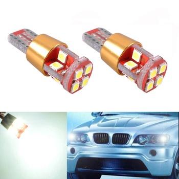 2x T10 LED W5W Samsung Car LED Auto Lamp Light Bulbs For BMW E46 E39 E91 E92 E93 E28 E61 F11 E63 E64 E84 E83 F25 E70 E53 E71 E60 image
