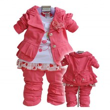 Baby Girl  Infant Clothing THREE PIECES OR TWO PIECES Baby Outfit  Bebek Giyim Baby Girl Clothing недорого