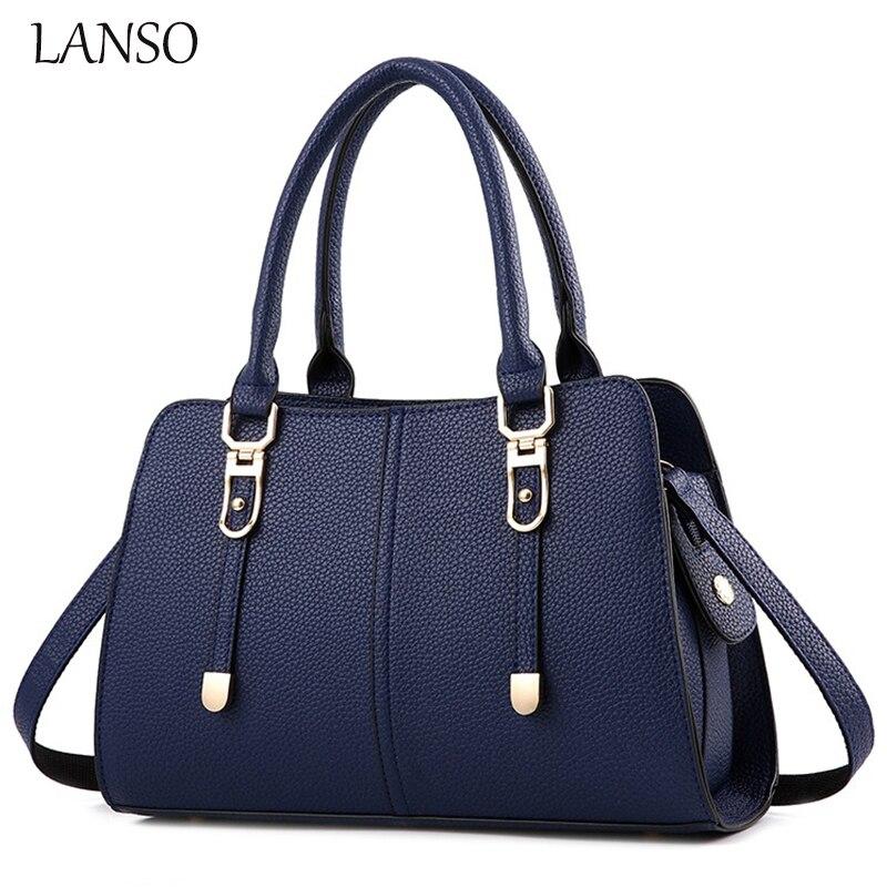 ФОТО LANSO Designer Brand Top-Handle Saffiano Bag Vintage Style Tote Purse Obag Ladies Shoulder Bags Elegant Women Satchels Big Size