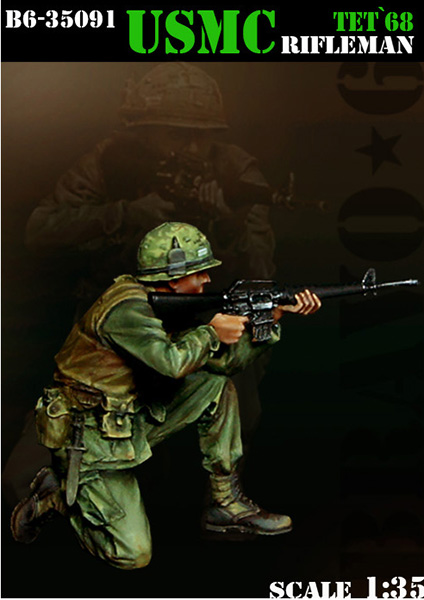 <font><b>1</b></font>/<font><b>35</b></font> <font><b>Resin</b></font> <font><b>figures</b></font> model kit <font><b>Vietnam</b></font> <font><b>War</b></font> Soldier XD133 image