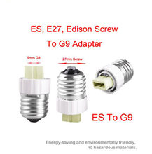 Edison Screw E27 To G9 Bulb Adapter Light Lamp Convertor Holder Socket Base #LRT15310#1 PCS/Lot(China)
